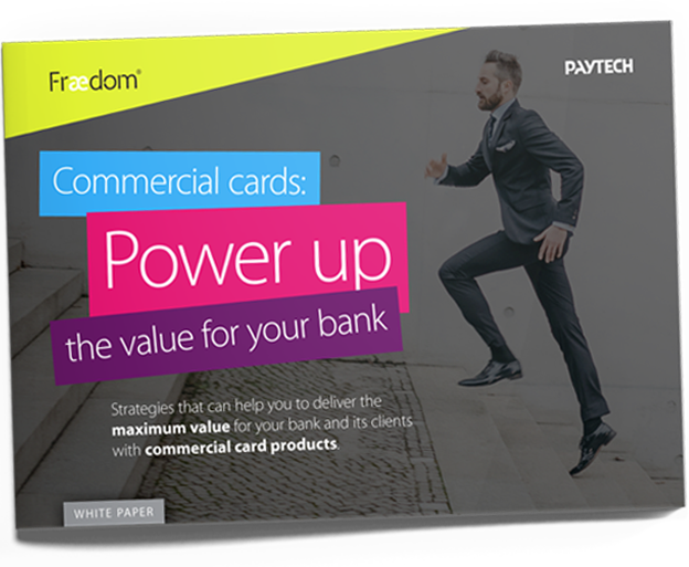 Fraedom - Powering up the value of your commercial card programs